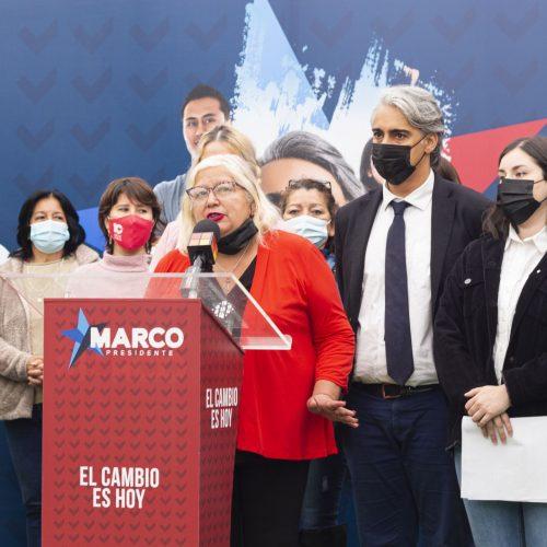 MARCO ENRÍQUEZ-OMINAMI PRESENTA PROPUESTA DE RENTA BÁSICA UNIVERSAL PROVISORIA PARA TODAS LAS MUJERES DE CHILE